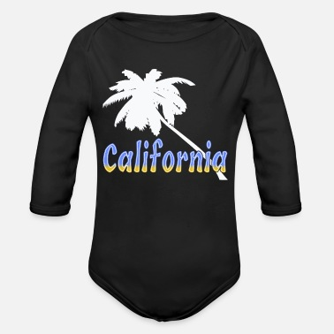 Californie Californie - Body bébé bio manches longues