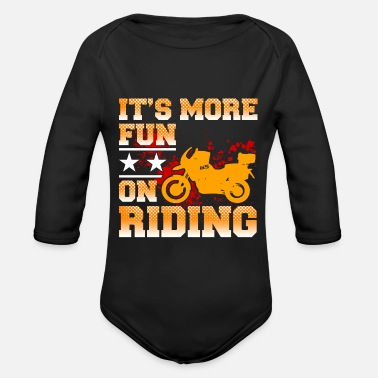 More Ps It's more Fun on Riding - Motorbike Bike Bikes - Baby Bio Langarmbody