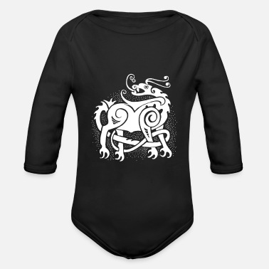 Mythical Creature mythical creatures - Organic Long-Sleeved Baby Bodysuit