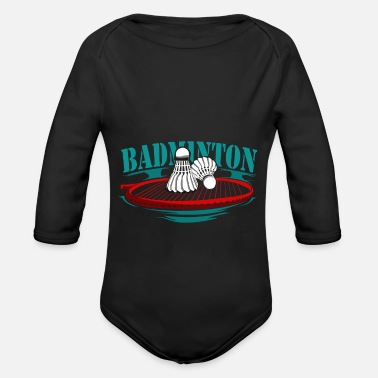 Sports Badminton racquet sports - Organic Long-Sleeved Baby Bodysuit