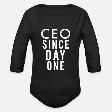 Ceo CEO - Organic Long-Sleeved Baby Bodysuit