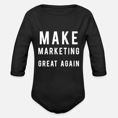 Market marketing - Organic Long-Sleeved Baby Bodysuit