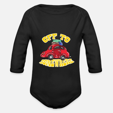 Road Trip Road trip - Organic Long-Sleeved Baby Bodysuit