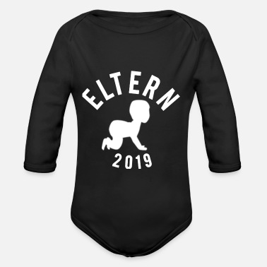 Parents parents - Organic Long-Sleeved Baby Bodysuit