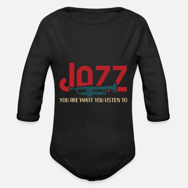 Jazz jazz - Organic Long-Sleeved Baby Bodysuit