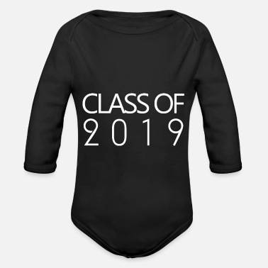 Class Class of 2019 - Organic Long-Sleeved Baby Bodysuit