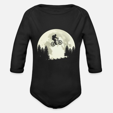 Ride Bike Bike ride bike ride - Organic Long-Sleeved Baby Bodysuit