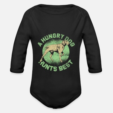 Hound hound - Organic Long-Sleeved Baby Bodysuit