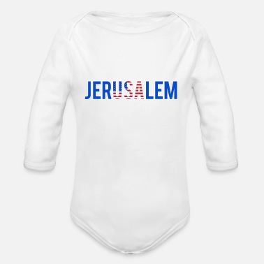 Jerusalem Jerusalem - Organic Long-Sleeved Baby Bodysuit