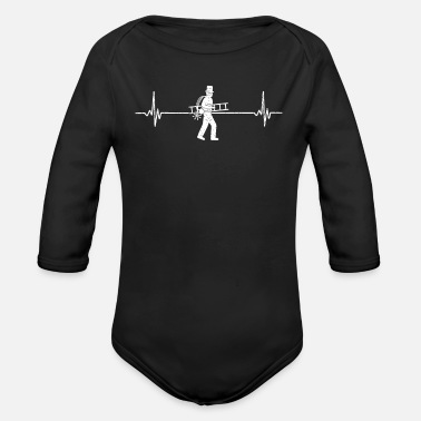 Chimney Sweep Chimney Sweep Chimney Sweep - Organic Long-Sleeved Baby Bodysuit
