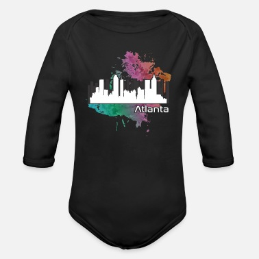 Atlanta Atlanta - Organic Long-Sleeved Baby Bodysuit