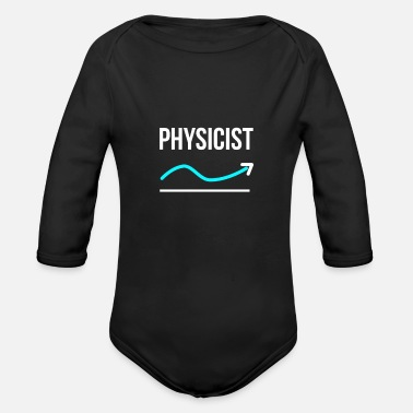Physics physics - Organic Long-Sleeved Baby Bodysuit