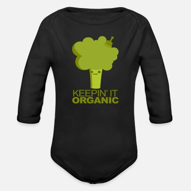 Vegetable vegetables - Organic Long-Sleeved Baby Bodysuit