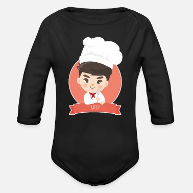 Bakery bakery - Organic Long-Sleeved Baby Bodysuit