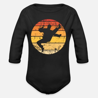 Martial Artists martial artists - Organic Long-Sleeved Baby Bodysuit