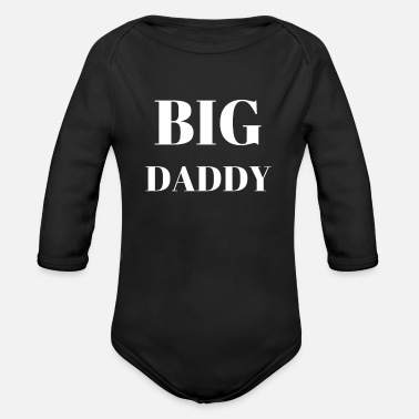 Big Daddy Big daddy - Organic Long-Sleeved Baby Bodysuit