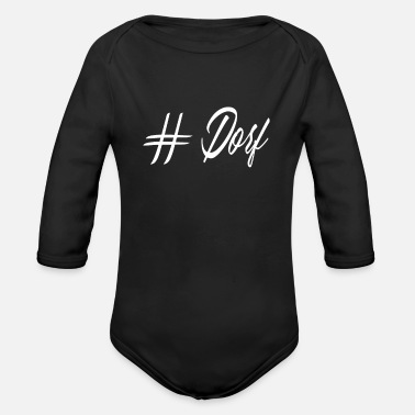 Village farmer gift idea - Organic Long-Sleeved Baby Bodysuit
