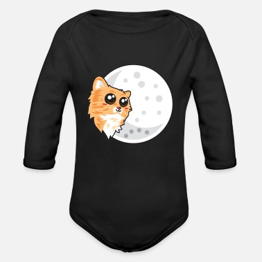 Domestic Cat domestic cat - Organic Long-Sleeved Baby Bodysuit