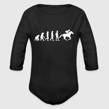 Reiten Evolution - Baby Bio-Langarm-Body