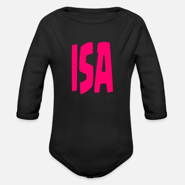 Isa Isa - Organic Long-Sleeved Baby Bodysuit