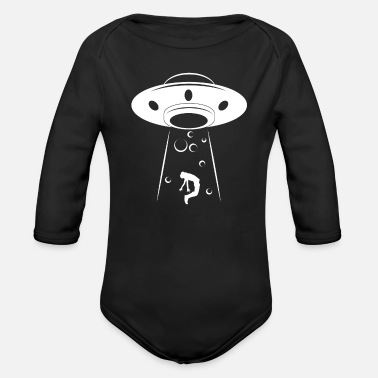 Ufo UFO - Organic Long-Sleeved Baby Bodysuit