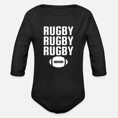 Rugby rugby - Body bébé bio manches longues