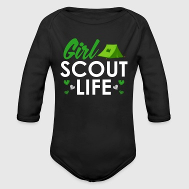 Scout Scout Girl Life - Scouts Girl Scouts - Body bébé bio manches longues