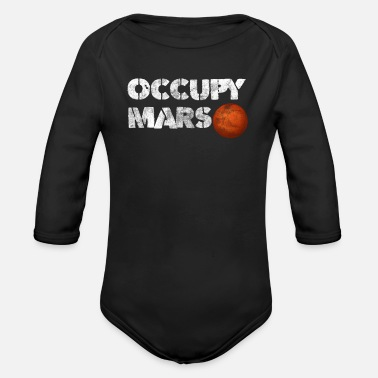 Mars Mars - Organic Long-Sleeved Baby Bodysuit