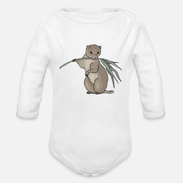 Rodent rodent - Organic Long-Sleeved Baby Bodysuit