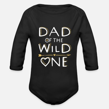 Wild DAD van de WILD ONE - Family Design (2/2) - Rompertje met lange mouwen