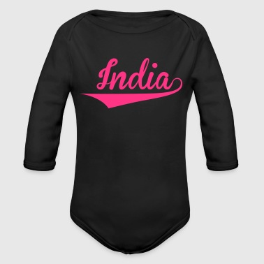 India - Økologisk langermet baby-body
