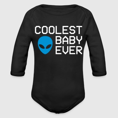 Coolest baby ever - Organic Longsleeve Baby Bodysuit