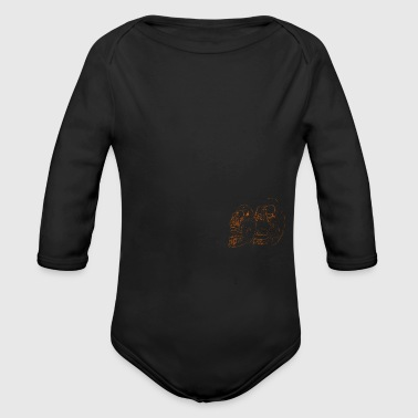 The two - Organic Longsleeve Baby Bodysuit