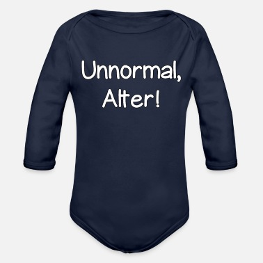 Age Unnormal age - Organic Long-Sleeved Baby Bodysuit