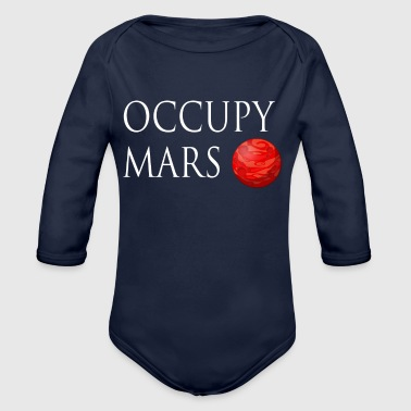 Occupy March Space - Baby Bio-Langarm-Body