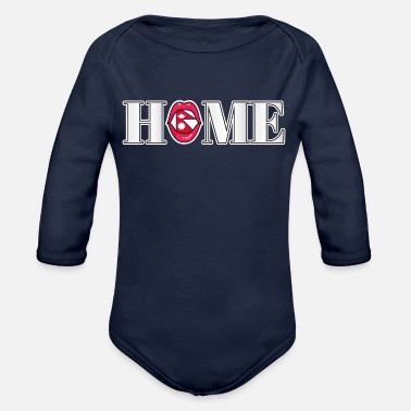 Nepal Nepal Home Gift - Organic Long-Sleeved Baby Bodysuit