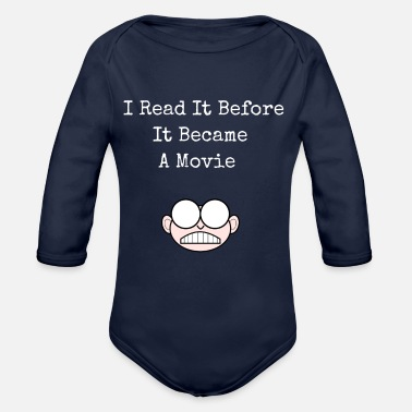 Scene scene - Organic Long-Sleeved Baby Bodysuit