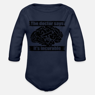 Asta diagnosis doctor incurable diagnosis astronomy ast - Organic Longsleeve Baby Bodysuit