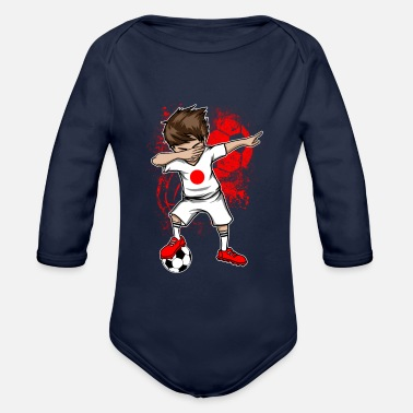 National Team JAPAN national team DAB - Organic Longsleeve Baby Bodysuit