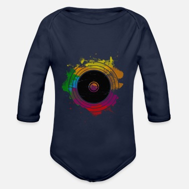 Vinyl VINYL record - Organic Long-Sleeved Baby Bodysuit