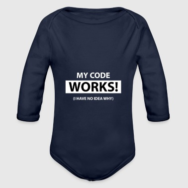 My code works I have no idea why - Body bébé bio manches longues