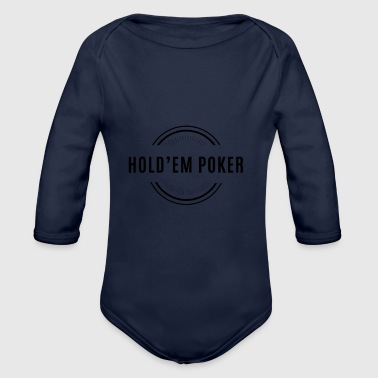 Hold em Poker - Baby Bio-Langarm-Body
