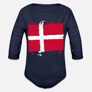 3f20ca88 Baby T-skjorte. Nasjonale flagg Danmark. fra kr 254 · Danmark Danmark flagg  - Danmark flagg - Økologisk langermet babybody