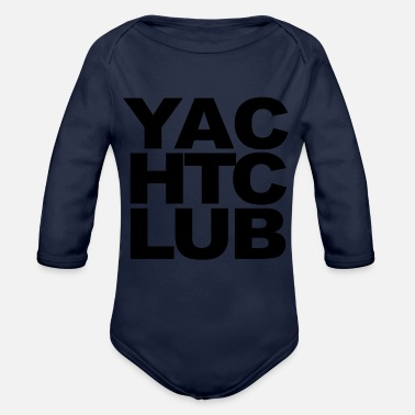 Yacht Club YACHT CLUB - Organic Long-Sleeved Baby Bodysuit