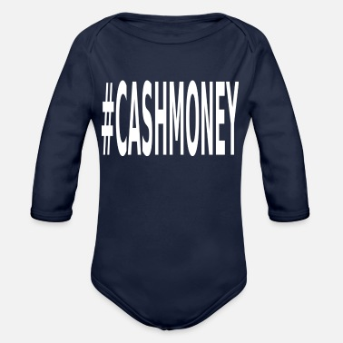 Cash Money Cash Money - Organic Long-Sleeved Baby Bodysuit