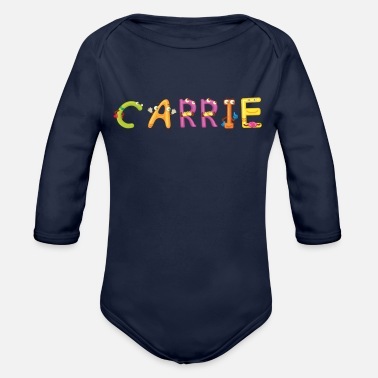 Carry Carrie - Organic Long-Sleeved Baby Bodysuit