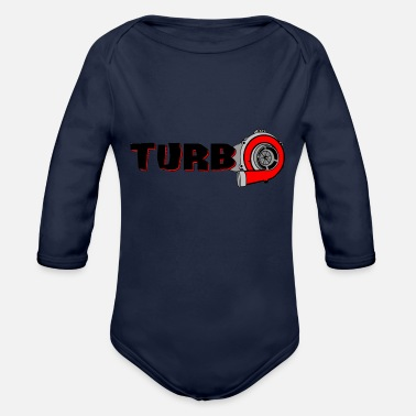 Turbo TURBO - Baby Bio-Langarm-Body