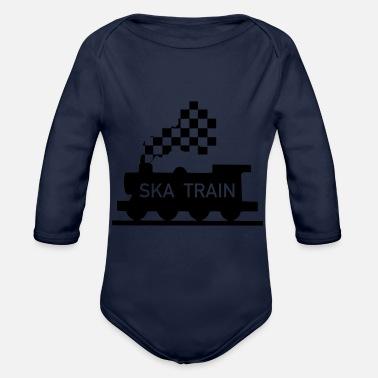 Ska ska train - Baby Bio Langarmbody