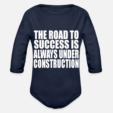 Road the road - Organic Long-Sleeved Baby Bodysuit