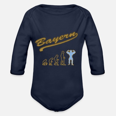 Bayer evolution to the real bayer gold - Organic Longsleeve Baby Bodysuit